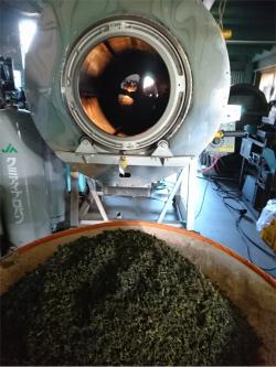ほうじ茶 製造
