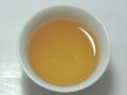 べにふうき緑茶 水色